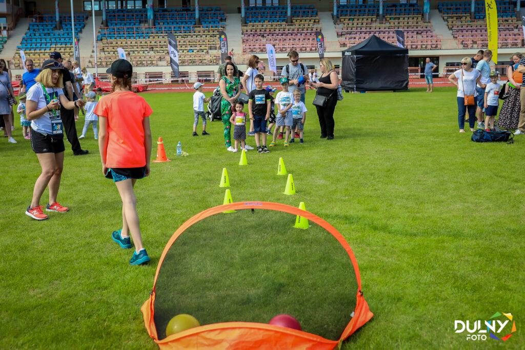 Piknik sportowy dla dzieci w Szczecinie